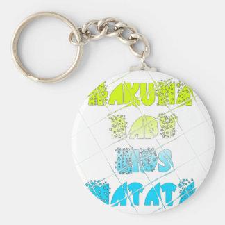 Happy Colors Hakuna Matata Hakunamatata Gift stars Keychain