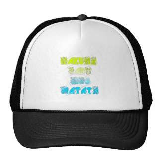 Happy Colors Hakuna Matata Hakunamatata Gift stars Trucker Hat