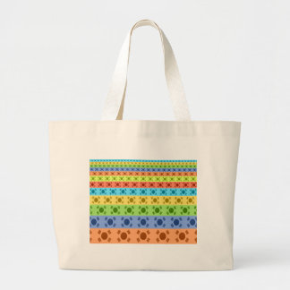 Happy Colors Large Tote Bag