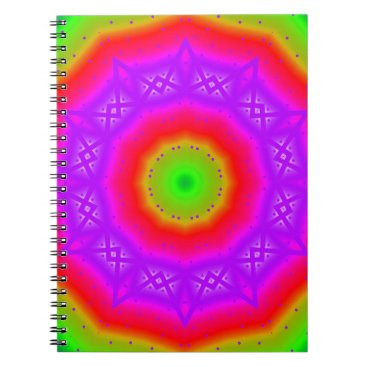 Beach Themed Happy Colors Notebook