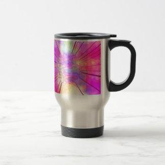 happy colors pink mugs