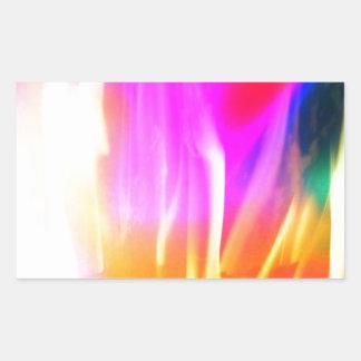 Happy Colors Rectangular Sticker