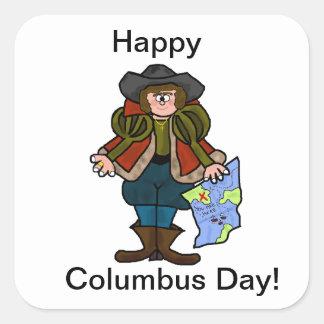 Happy Columbus Day Stickers - Ver. 2