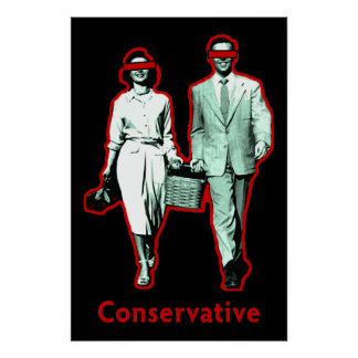 Happy Conservative Couple Poster