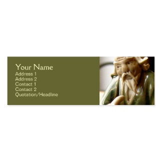 Happy Contemplation Business Card Template