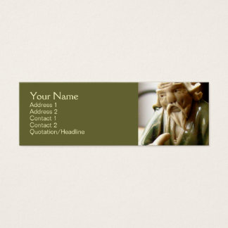 Happy Contemplation Mini Business Card