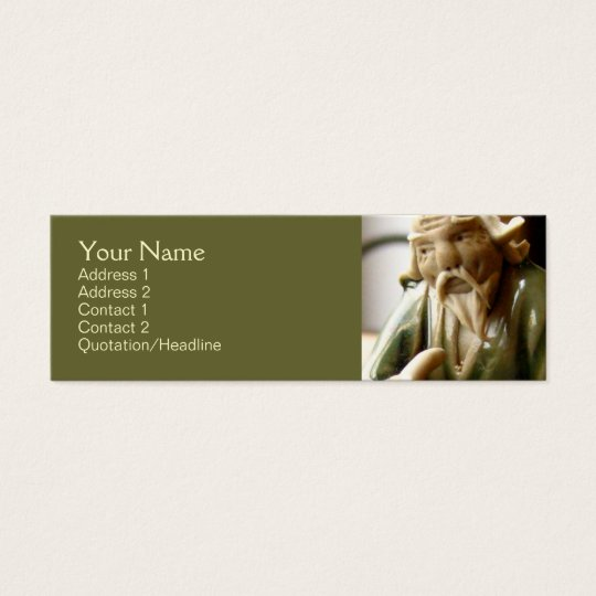 Happy Contemplation Mini Business Card