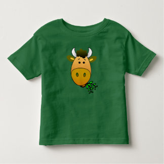 Happy Contented Cow Munching on Fodder Shirt