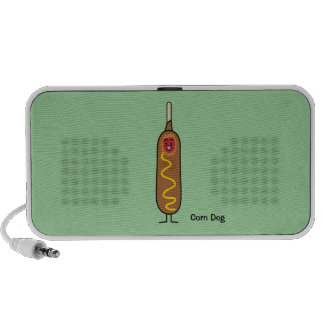 Happy Corn Dog Mini Speaker