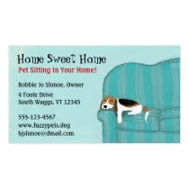 Happy Couch Dog Business Cards