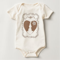 Happy Couple Baby Bodysuit