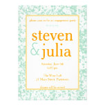 Happy Couple Engagement Party / Couples Shower Personalized Invitation
