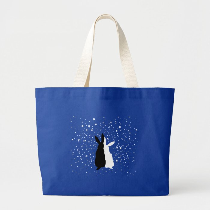 Happy Couple Large Tote Bag