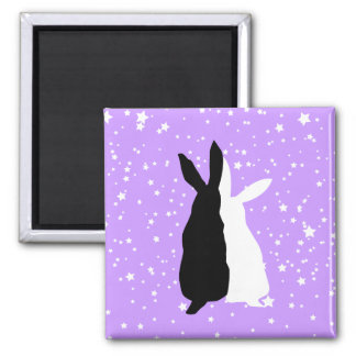 Happy Couple 2 Inch Square Magnet