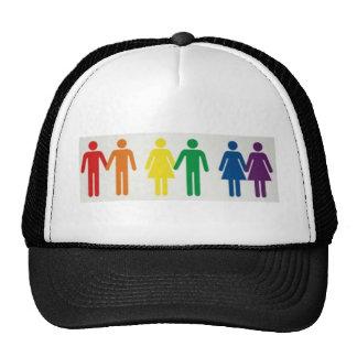 Happy couples hats