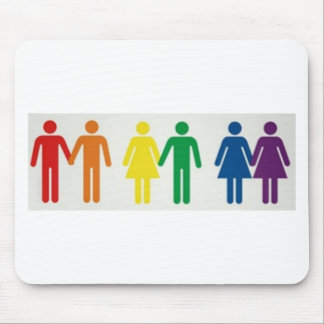 Happy couples mouse pad