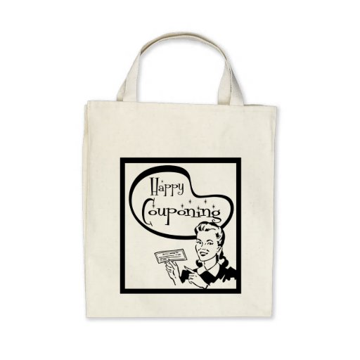 Happy Couponing: Light Canvas Bags