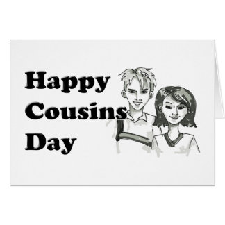 Happy  Cousins Day Card