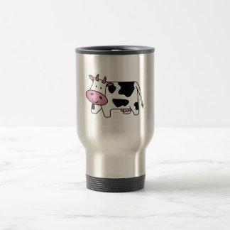 Happy Cow 15 Oz Stainless Steel Travel Mug