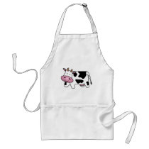 Happy Cow Adult Apron