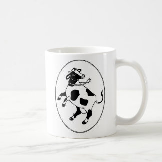Happy Cow Classic White Coffee Mug