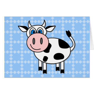 Happy Cow - Customizable Cards