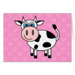 Happy Cow - Customizable! Greeting Cards
