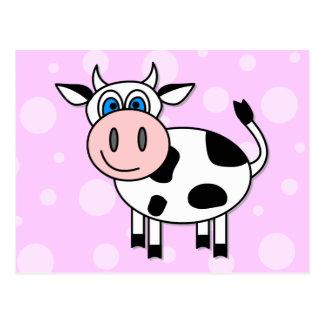 Happy Cow - Customizable Postcards