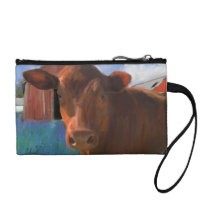 Happy Cow From West Marin Coin Wallet
