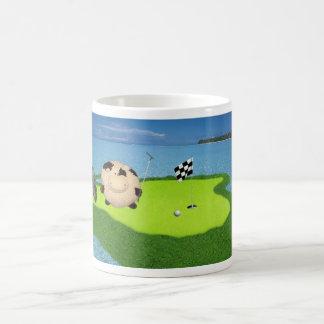 Happy Cow Golf Sport Mug