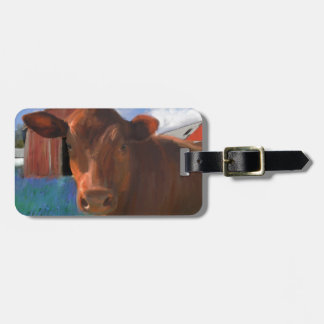Happy Cow in West Marin Bag Tag