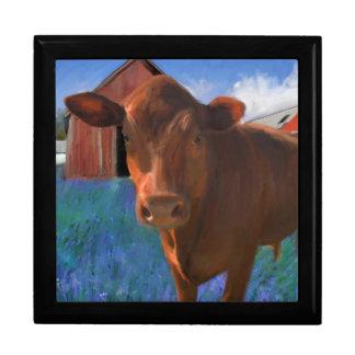Happy Cow in West Marin Keepsake Box