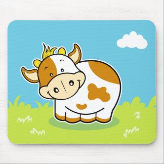 Happy cow mousepad