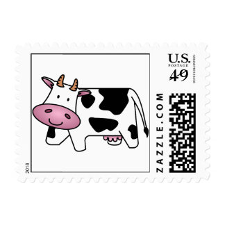 Happy Cow Stamp