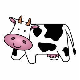 Happy Cow Statuette