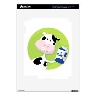 Happy cow with Milk Skins For iPad 3
