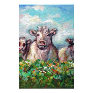 Happy Cows curious Stationery
