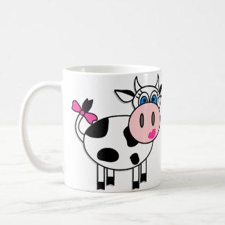 Happy Cows In Love Classic White Coffee Mug