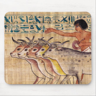 Happy Cows of Nebamun Mouse Pad