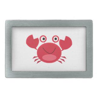 Happy Crab Belt Buckles