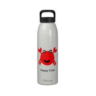 Happy Crab Water Bottles