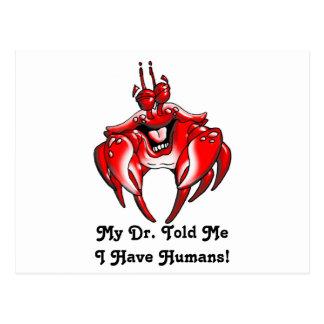 Happy Crabs - Designer Postcard