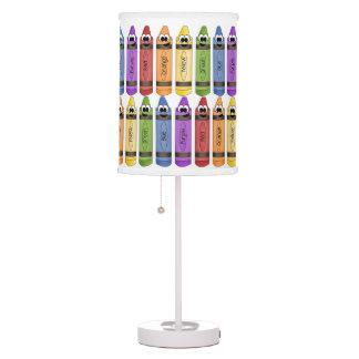 Happy Crayons Desk Lamp