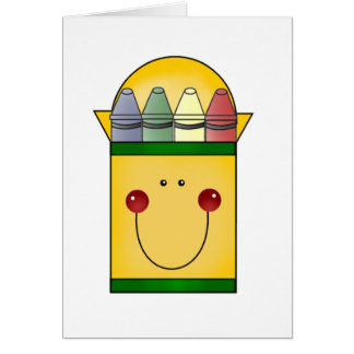 Happy Crayons Tshirts and Gifts Card