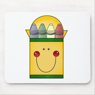 Happy Crayons Tshirts and Gifts Mouse Pad