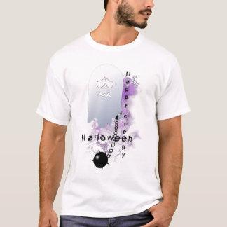 Happy creepy halloween ghost T-Shirt