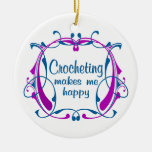 Happy Crocheting Christmas Tree Ornaments