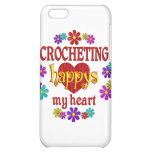 Happy Crocheting Cover For iPhone 5C