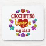 Happy Crocheting Mousepad