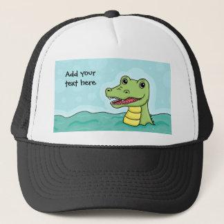 Happy Crocodile customisable Trucker Hat